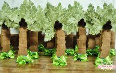 Pêpo & Lú: Safari Coqueiros tubete em scrap