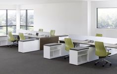 Work spaces without walls for better collaboration