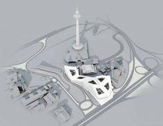 Propuesta para Complejo en Teherán / ContemporARchitectURban Designer's Group