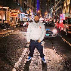 DJ Khaled wearing Air Jordan 10 X Bobcats