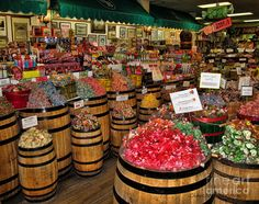 Old-Fashioned Candy Store   Candy Store Photograph by Clare VanderVeen - Laguna Beach Candy Store ...