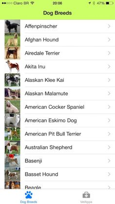 Dog Breeds App Social Networking Reference iPhone App **** $0.99...: Dog Breeds App Social Networking… #iphoneSocialNetworkingReference
