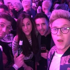 Niall with georgiaroses (IG) at Ellie Goulding's concert in London - 25.03.16