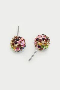 Crystal Watercolor Earrings