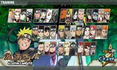 Naruto Senki MOD Full Characters Unlocked Road To Ninja Apk Android Terbaru Naruto Games, Bandai Namco Entertainment, Ninja, Android, Characters, Baseball Cards, Free, Figurines, Ninjas