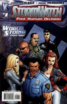 StormWatch comic.