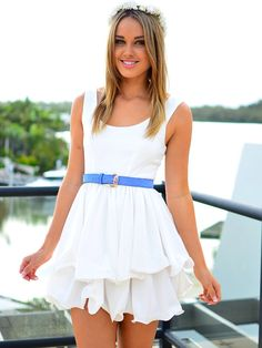 Our Dear Julia in white is simply stunning! $79
