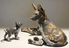 Artist: Nick Mackman  My main sculpture inspiration comes from her ceramic animal pieces