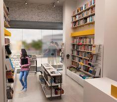Livrarias Ideias Letras, D'HORTA Arquitetura
