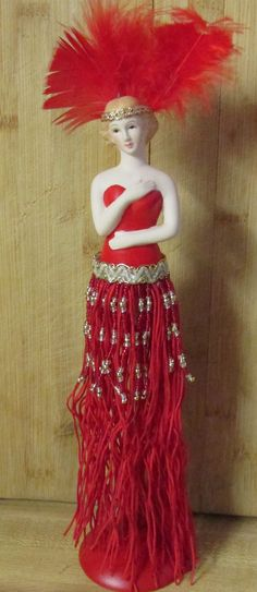 Tassel Doll made from a kit....