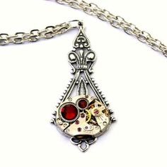 Steampunk Necklaces for the Summer
