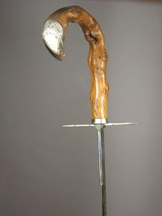 GADGET DEFENSE CANE WITH TOLEDEO POP SWORD