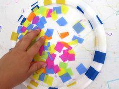 Una guía visual muy práctica sobre cómo hacer estos vitrales con niño, para llenar las ventanas de color. Con un paso a paso en fotografías.
