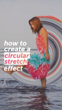 How To Create A Circular Stretch Effect 🌀 - - Dunya Sağlık Ve fitness Photo Editing Vsco, Photoshop Photography, Creative Photography, Photography Poses, Story Instagram, Creative Instagram Stories, Apps Fotografia, Foto Youtube, Party Deco