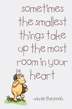 "I decorated my baby's room in Pooh. I love Pooh. So sad when she came to me & said she'd ""outgrown it."" Looking forward to when she realizes that Pooh is awesome again. Cute Quotes, Great Quotes, Inspirational Quotes, Baby Sayings And Quotes, Cute Sayings, Weird Quotes, Genius Quotes, Winnie The Pooh Quotes, A A Milne Quotes"