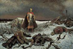 9. Все мужчины на Руси обучались военному делу.