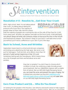 Rodan & Fields Rocks!  www.haleyamaro.myrandf.com  Contact me for more information- or just visit my website and use the solution tool!!  It gives you a recommendation specific for your skin!!  Talk to you soon!