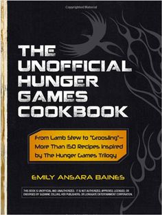 Of course The Hunger Games needs a cookbook! #recipes #hungergames #cookbook
