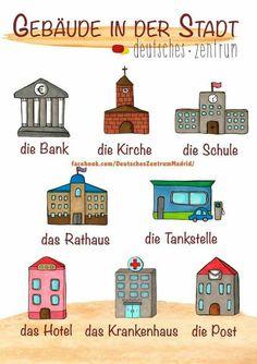 German Grammar, Teaching English Grammar, German Language Learning, Language Study, Funny German Words, Study German, Learn German, German Resources, Deutsch Language