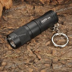 Bronte RA05 XPG-R5 LED 170LM 3-Mode Memory White Light Flashlight w/ Key Ring (1 x CR123/16340). Brand: Bronte Model: RA05 Emitter Brand: - LED Type: XPG BIN: R5 Color: White Number of Emitters: 1 Voltage Input: 0.8~4.2V Battery Configuration: 1 x CR123/16340 battery (not included) Circuitry: Digital Regulated 800mA Current Output Brightness: 45LM (mid mode) / 170LM (high mode) / 5LM (low mode) Runtime: 2 hrs (manufacturer rated) Number of Modes: 3 Mode Arrangement: Mid > High > Low Mode…