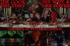 The Cook, The Thief, His Wife & Her Lover - another poster