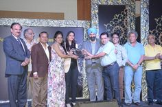 Ajay Shankar Memorial Bronze Award for the Best Designed Stand in Fashion Accessories Category was given to M/s Accessorize India, New Delhi, and was received by Mr Sachdev and Ms. Rajnie Sachdev — at India Expo Mart.