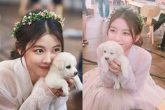 Kim Yoo Jung Slays the Cute Meter Cuddling Puppy in New Moonlight Drawn by…