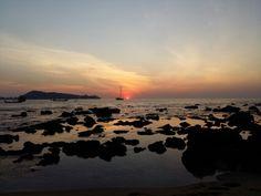 Sunset at Kalim beach. Me & my sunshine.