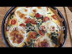 Quiche Caprese - Rookie Cook Party Recipes, Baking Recipes, Yummy Recipes, Recipies, My Favorite Food, Favorite Recipes, Recipe Creator, Irish Recipes, Recipe Box