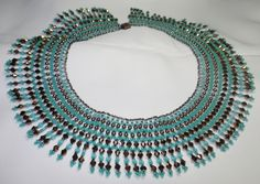 Bronze and Turquoise Collar