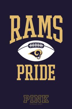 No PINK for this girl - just STL Rams pride❤ my team for years. Yes Rams Pride runs deep Football Fever, Nfl Football Teams, Football Season, Football Helmets, La Rams Shirt, Nfl Rams, Ram Wallpaper, St Louis Rams, Football Conference