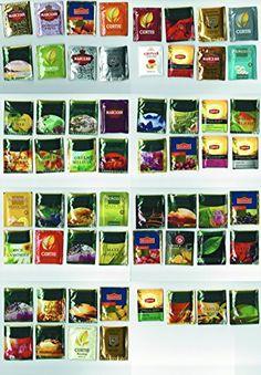 Assorted black, green, white teas Greenfield, Lipton, Tee... http://www.amazon.com/dp/B01EFUD0HK/ref=cm_sw_r_pi_dp_fxfgxb16TQ39J