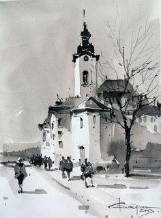 Galerie de acuarelă Corneliu Drăgan-Târgovişte | http://artportfolio.ro