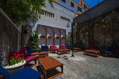 Outdoors Bars in Madeira - Bar Santa Maria Funchal