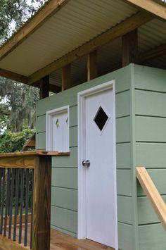 Luke designs and builds a mid century modern retro playhouse - Retro Renovation