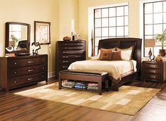 Hadley Queen Bedroom Make Your Master Suite A Retro Modern Retreat With This Dark Chocolate Bedroom Set Myrfholiday Sweepsentry Pinterest Chocolate