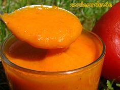 Comme promis hier, voici la recette du coulis de poivrons rouges. Ce coulis peut s'utiliser froid avec une entrée (terrine de légume, flan de poisson) ou chaud pour accompagner riz, pâtes, po…