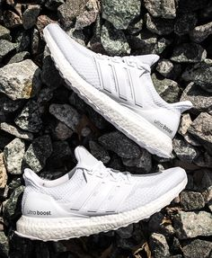 d903b6a204750 Just Released in the US  adidas Ultra Boost Running White EU Kicks  Sneaker  - Adidas White Sneakers - Latest and fashionable shoes - Just Released in  the ...