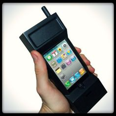 $ 10.39 Simply slot your iPhone into the Retro iPhone Case and capture the look and feel of the 1980's 'house brick' without losing any of your 21st-century specs! #retrogadgets