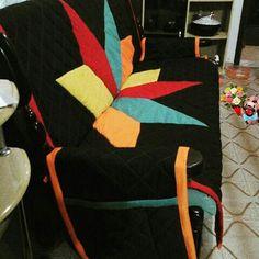 Lateral da capa de sofá