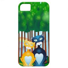 Cats iPhone 5 Cases