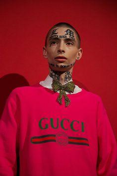 Backstage at Gucci SS17 MFW Dazed