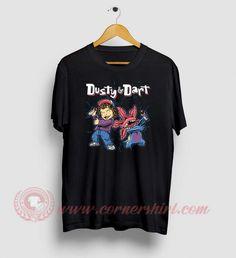 Dusty And Dart Nougat Stranger Things T Shirts Stranger Things Shirt, Stranger Things Season, Custom Made T Shirts, Custom Design Shirts, Movie Shirts, Cheap Shirts, Shirt Price, Custom T, Sweatshirts