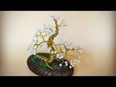 ABC TV | How To Make A Bonsai Tree From Copper Wire - Craft Tutorial #4 - YouTube