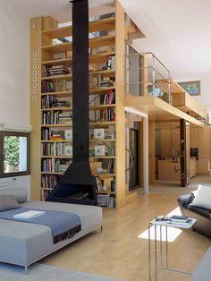 Vivienda Unifamiliar en Tamariu, Girona Arctic, Loft, Architecture, Bed, Furniture, Home Decor, Houses, Homemade Home Decor, Stream Bed