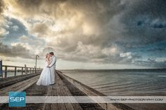 Nicolle and Kyle: A sun storm showered this happy couple in luck | Photo: SEP Photography | #kingfisherbay #fraserisland #destinationwedding #fraserislandwedding #fraserwedding http://www.fraserislandweddings.com.au/ #AccorAustralia #Mercure