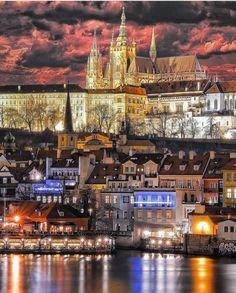 "128.1k Likes, 983 Comments - Wonderful Places (@wonderful_places) on Instagram: ""Prague - Czech Republic ✨✨ Picture by ✨✨@sennarelax✨✨ . #wonderful_places for a feature ❤️"""
