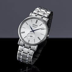 SEIKO WATCH | Premier - Men collections - Small Second Hand 6G28
