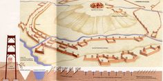 ROMAN FORTIFICATIONS-- Battle of Alesia.