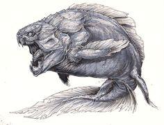 Nightmare Dunkleosteus by BLACK-HEART-SPIRAL on DeviantArt
